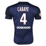 Paris Saint-Germain 15/16 CABAYE Home Soccer Jersey