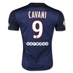 Paris Saint-Germain 15/16 CAVANI Home Soccer Jersey
