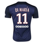 Paris Saint-Germain 15/16 DI MARIA Home Soccer Jersey