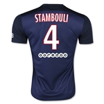 Paris Saint-Germain 15/16 STAMBOULI Home Soccer Jersey