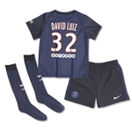 Paris Saint-Germain 15/16 DAVID LUIZ Little Boys Home Kit