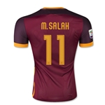 AS Roma 15/16 M. SALAH Authentic Home Soccer Jersey