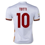 AS Roma 15/16 TOTTI Away Soccer Jersey