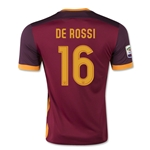 AS Roma 15/16 DE ROSSI Home Soccer Jersey