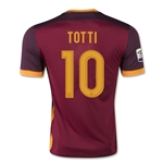 AS Roma 14/15 TOTTI Home Soccer Jersey