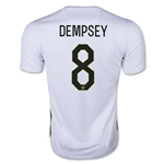 USWNT 2015 DEMPSEY Home Soccer Jersey