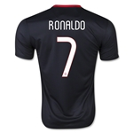 Portugal 2015 RONALDO Youth Away Soccer Jersey