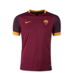 AS Roma 15/16 Youth Home Soccer Jersey