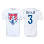 USA GONZALEZ Core Crest T-Shirt