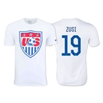 USA ZUSI Core Crest T-Shirt