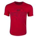 USA Core Plus T-Shirt (Red)