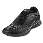 Nike Junior Free Hypervenom Running Shoe (Black/Black/Black)