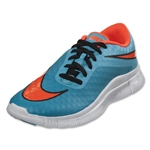Nike Junior Free Hypervenom Running Shoe (Clearwater/Total Crimson/Blue Lagoon/White)