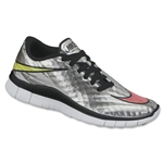 Nike Junior Free Hypervenom Running Shoe (Chrome/Volt/Hyper Pink/Metallic Gold Coin)