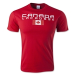 Canada Lacrosse T-Shirt (Red)