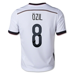 Germany 2014 OZIL Youth Home Soccer Jersey
