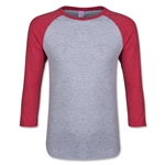 Junior 3/4 Sleeve T-Shirt (Heather Sc)