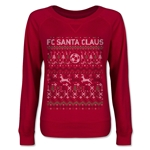 FC Santa Claus Christmas Sweater Junior Pullover (Red)
