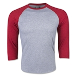 Men's 3/4 Sleeve T-Shirt (Heather Sc)