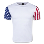 Men's Stars & Stripes T-Shirt (White)