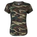 Women's Camo T-Shirt (Dark Green)