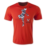 Nike Virginia Lacrosse Dri-FIT Legend T-Shirt (Orange)