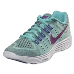 Nike Women's Lunar Trainer Women's Running Shoe (Light Aqua/Persian Violet/White/Fuchsia Flash)