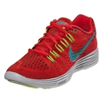Nike Women's Lunar Trainer Women's Running Shoe (Bright Crimson/Volt/White/Light Aqua)