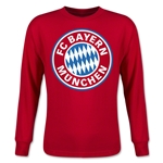 Bayern Munich Youth LS T-Shirt (Red)