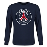 Paris Saint-Germain Youth LS T-Shirt (Navy)