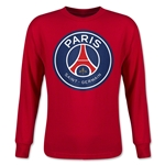 Paris Saint-Germain Youth LS T-Shirt (Red)