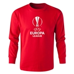UEFA Europa League LS Youth T-Shirt (Red)