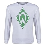Werder Bremen Youth LS T-Shirt (White)