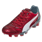 Puma evoPower 4.2 Graphic FG JR (High Risk Red/White)