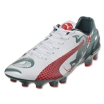 Puma evoSpeed 2.3 Graphic FG (White/Sea Pine)