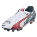 Puma evoSpeed 4.3 Graphic FG (White/Sea Pine)