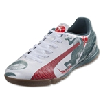 PUMA evoSPEED 4.3 IT (White/Sea Pine/High Risk Red)