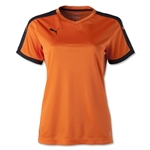 PUMA Women's Pitch Jersey (Org/Blk)