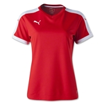 PUMA Women's Pitch Jersey (Sc/Wh)