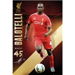 Liverpool Balotelli Poster