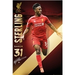 Liverpool Sterling Poster