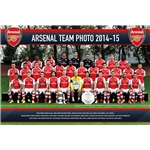 Arsenal 14/15 Team Poster