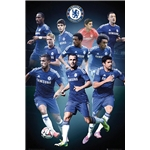 Chelsea Collage Poster