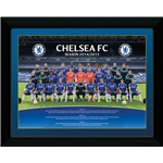 Chelsea Team Framed Poster