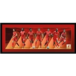 Liverpool 14/15 Players 30x12 Panoramic Poster
