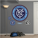 New York City FC Logo Fathead Wall Decal