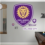 Orlando City Logo Fathead Wall Decal