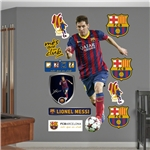 Barcelona Messi Fathead Wall Decal