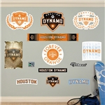 Houston Dynamo Logo Fathead Wall Decal