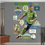 Seattle Sounders Dempsey Fathead Wall Decal